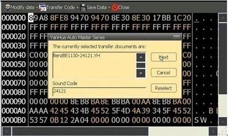 Decode Audio for Benz via Digimaster 3-4