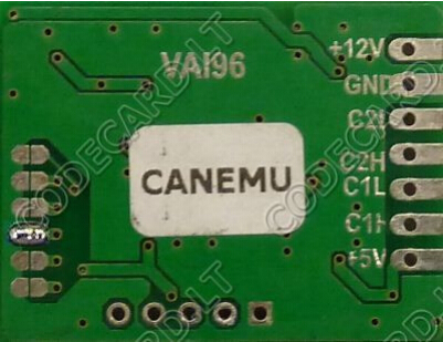 CANEMU CAN filter connection manual for Renault Laguna III-2