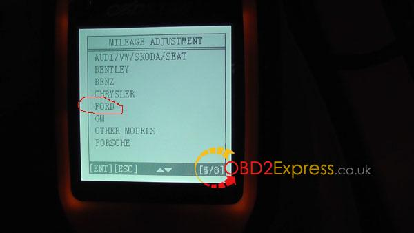 OBDSTAR-X300M-change-mileage-on-Ford-3