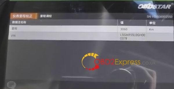OBDSTAR-X300DP-adjust-mileage-for-cadillac-11