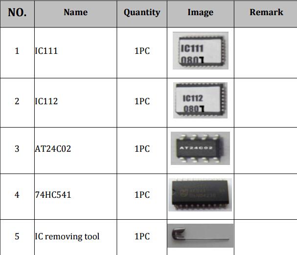 Tacho Universal V2008.01 Update& Repair Kit package