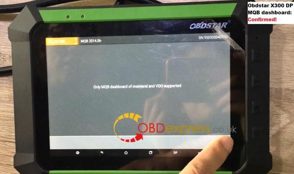 obdstar-x300-dp-vag-mqb-dashboard