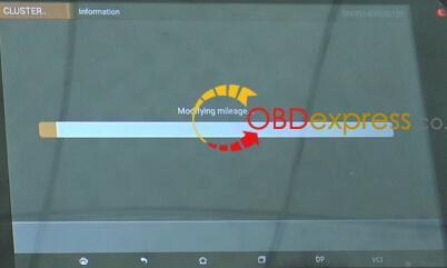 Benz-A-class-W169-odometer-correction-obdstar-x300-dp-plus-9