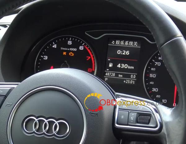 2014 Audi-A3-milege-change-with-x300-dp-plus-1