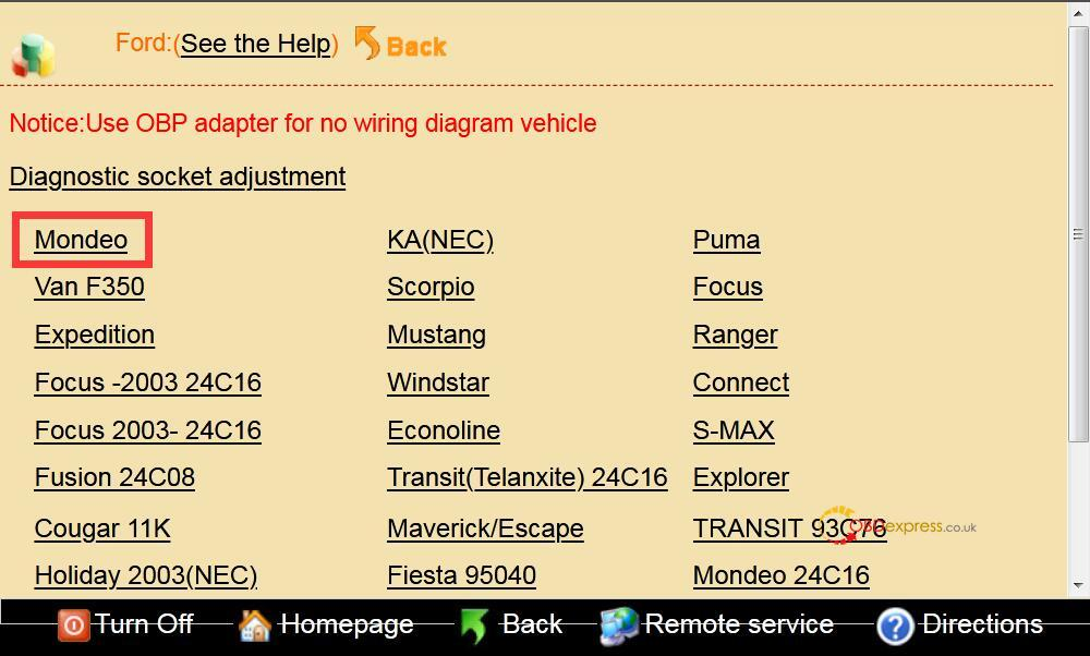 Ford Mondeo Odometer Adjust By Digimaster 3 04