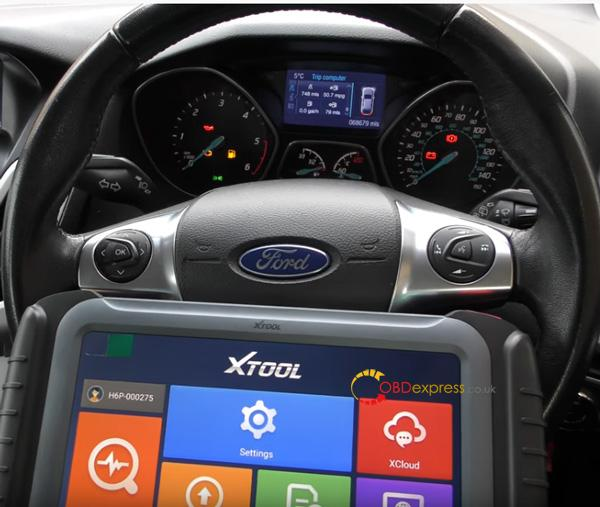 Xtool H6 Ford Mileage Correction 1
