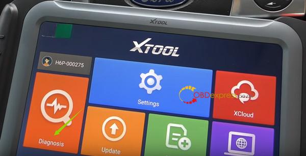 Xtool H6 Ford Mileage Correction 3