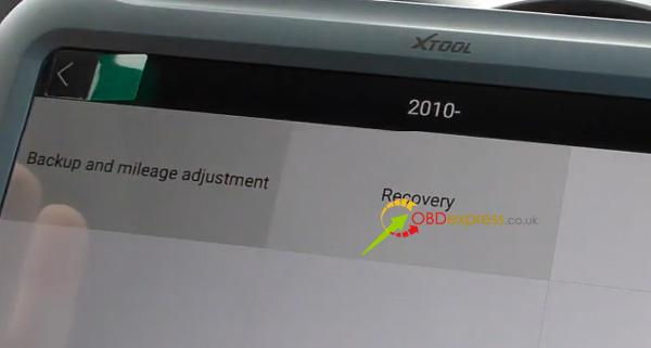 Xtool A80 H6 Correction Mileage For Porsche Cayenne 18