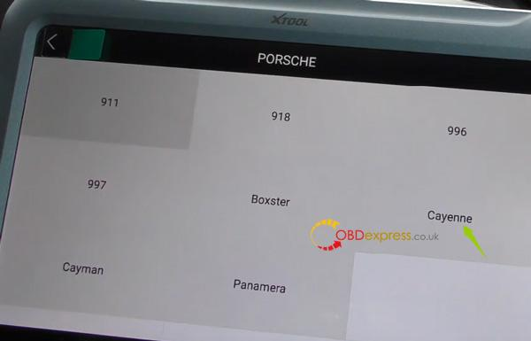 Xtool A80 H6 Correction Mileage For Porsche Cayenne 6