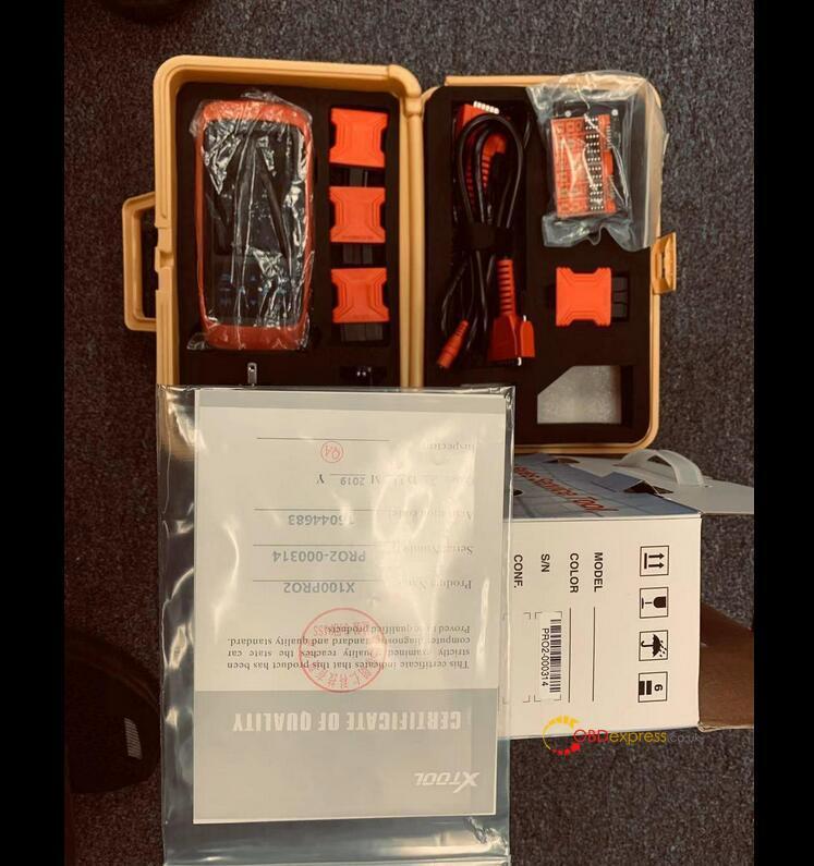 Xtool X100 Pro2 Ford Mileage Programming List 02