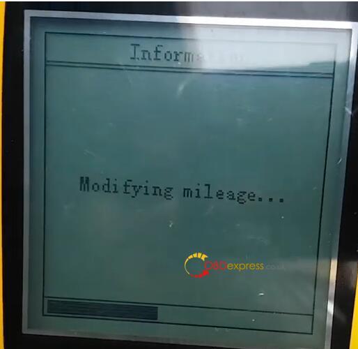 BENZ W212 2014 Mileage Programming X300m 18