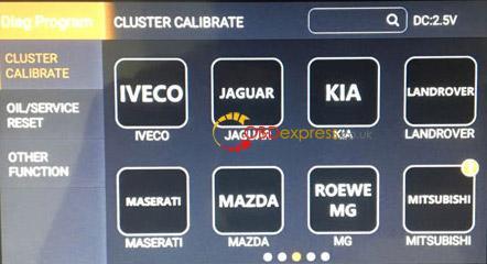 Obdstar Odo Master 3 Configurations 04