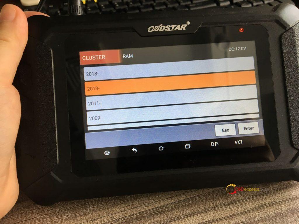 Obdstar Odomaster 2013 Dodge Ram Mileage Programming 03