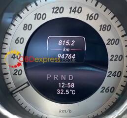 X300m Benz 2013 W204 Mileage Programming 1