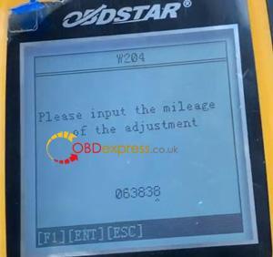 X300m Benz 2013 W204 Mileage Programming 11