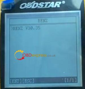 X300m Benz 2013 W204 Mileage Programming 5