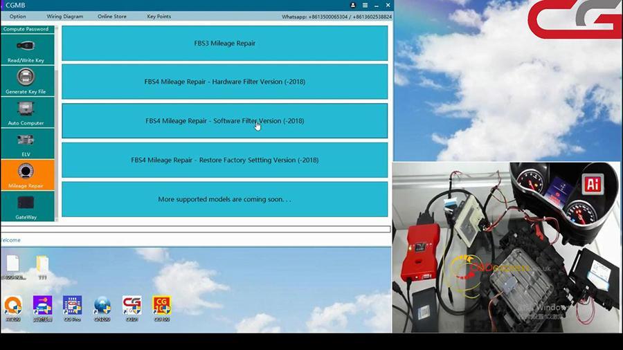 Cgdi Mb W205 Fbs4 Mileage Programming 001
