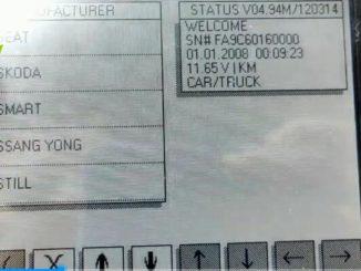 Diprog3 Odometer Correction Seat 3