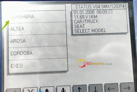 Diprog3 Odometer Correction Seat 4
