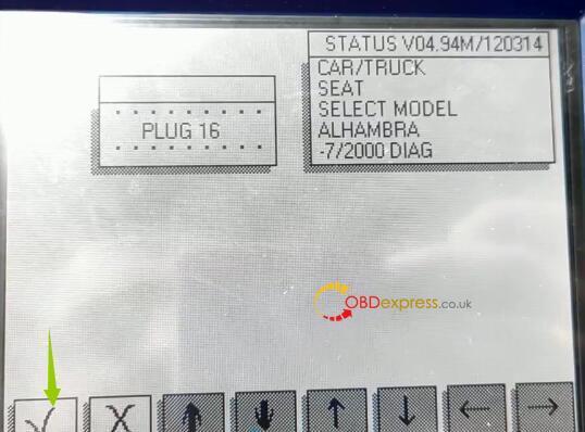 Diprog3 Odometer Correction Seat 6