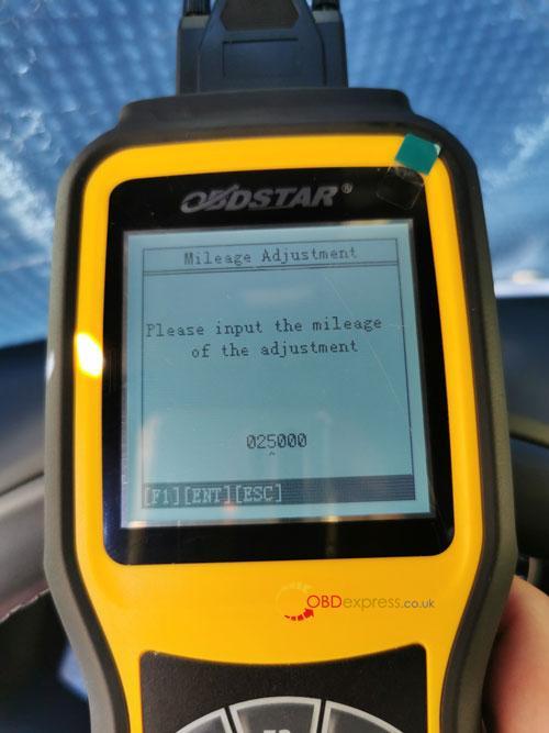 OBDSTAR X300M SEAT MQB Mileage Correction 11