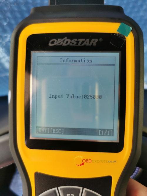OBDSTAR X300M SEAT MQB Mileage Correction 13