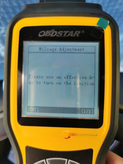 OBDSTAR X300M SEAT MQB Mileage Correction 14