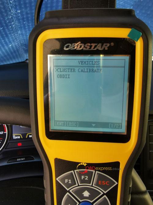 OBDSTAR X300M SEAT MQB Mileage Correction 3