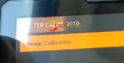 Odomaster Chevrolet Cruze 2010 Mileage Correction 6