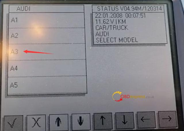 Digiprog3 Audi A3 Mileage Correction 4