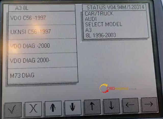 Digiprog3 Audi A3 Mileage Correction 6