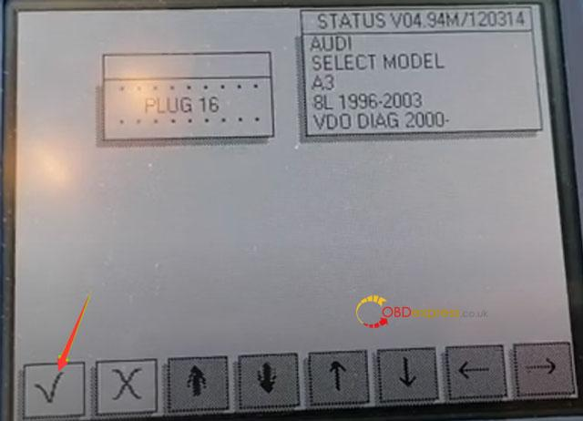 Digiprog3 Audi A3 Mileage Correction 7