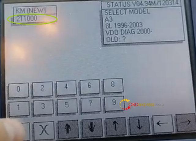Digiprog3 Audi A3 Mileage Correction 8 1
