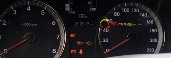 Obdstar X300 Hyundai I25 Odometer 1