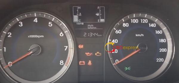 Obdstar X300 Hyundai I25 Odometer 9