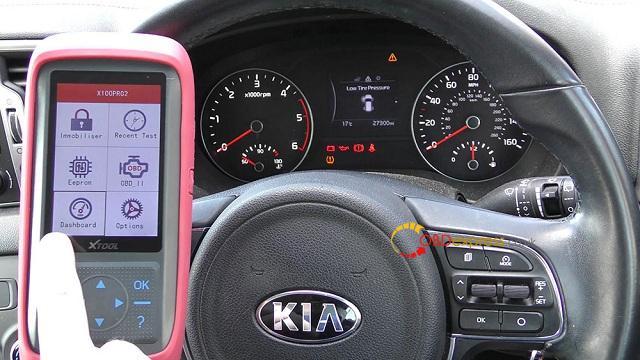 Xtool X100 Pro 2 Kia Mileage Correction Via Obd2 02