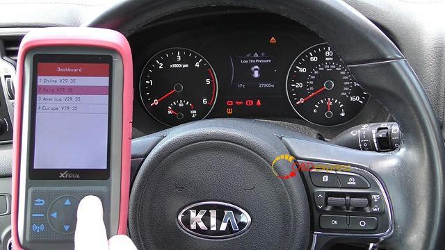 Xtool X100 Pro 2 Kia Mileage Correction Via Obd2 03