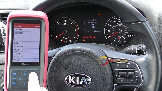 Xtool X100 Pro 2 Kia Mileage Correction Via Obd2 04