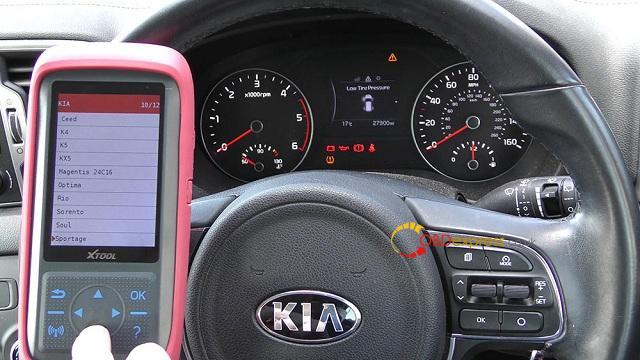 Xtool X100 Pro 2 Kia Mileage Correction Via Obd2 05