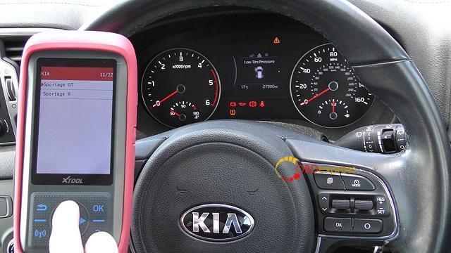 Xtool X100 Pro 2 Kia Mileage Correction Via Obd2 06