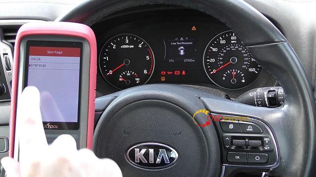 Xtool X100 Pro 2 Kia Mileage Correction Via Obd2 07