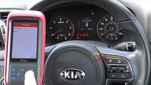 Xtool X100 Pro 2 Kia Mileage Correction Via Obd2 08
