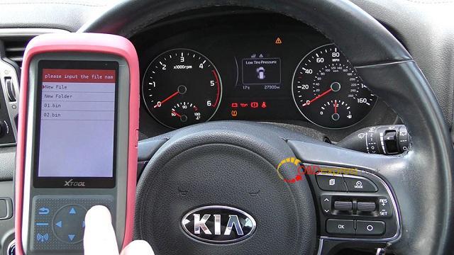 Xtool X100 Pro 2 Kia Mileage Correction Via Obd2 09