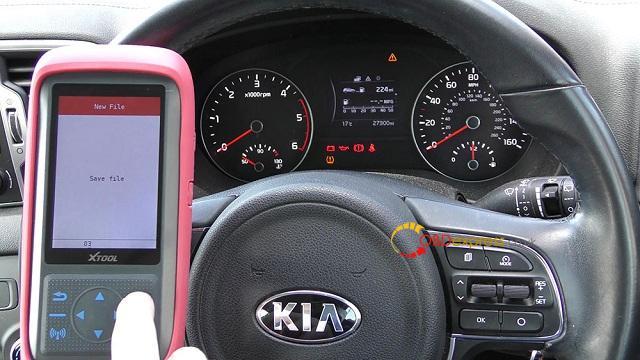 Xtool X100 Pro 2 Kia Mileage Correction Via Obd2 10