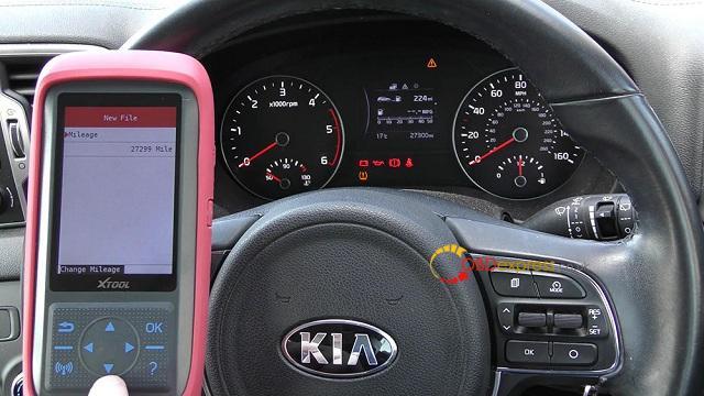 Xtool X100 Pro 2 Kia Mileage Correction Via Obd2 11