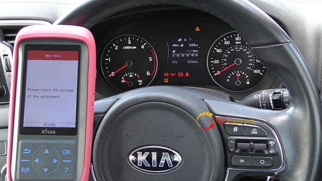 Xtool X100 Pro 2 Kia Mileage Correction Via Obd2 12