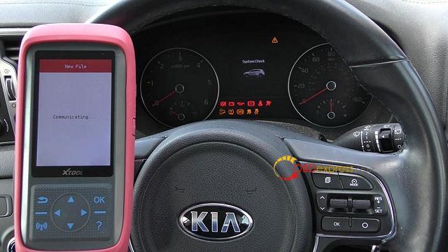 Xtool X100 Pro 2 Kia Mileage Correction Via Obd2 13