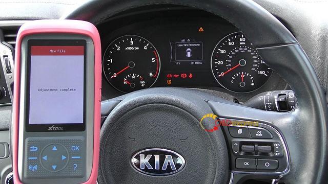 Xtool X100 Pro 2 Kia Mileage Correction Via Obd2 14