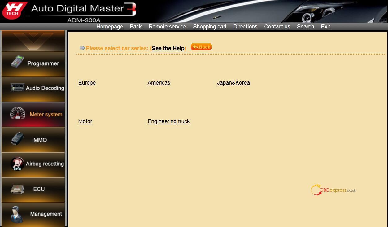 Digimaster 3 Nissan Pathfinder Mileage Programming 01