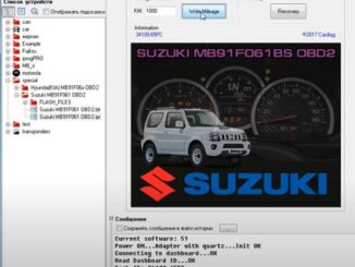 Iprog Correction Suzuki MB91F061BS OBD2 1